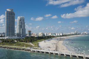 Miami, Plage, L'Eau, Océan, Sud, Miami Beach, Floride